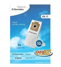 D315MF 5 sacchetti in tessuto microfibra per aspirapolvere AEG Berry AB e Smart