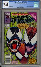 AMAZING SPIDER-MAN #363 - CGC 7.5 - CARNAGE - VENOM - HUMAN TORCH - 2033538008