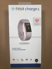 Fitbit Charge 2 Fitness Tracker Special Edition, Lavender Rose Gold, Large New