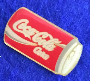 Collectable Authentic Coca Cola Can Enamel Pin #3J
