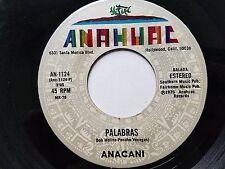 ANACANI - Palabras / Entre Muy Tarde y Nunca 1978 RANCHERA NORTENO Anahuac