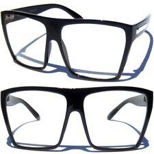Big OVERSIZE WOMENS EYE GLASSES Clear Lens Retro Fashion Large Design