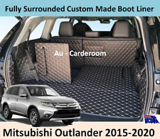 Mitsubishi Outlander 2015-2020 Custom Made Trunk Boot Mat Liner Cargo Cover