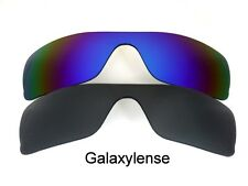 Galaxy Replacement Lenses for Oakley Batwolf Black&Blue Polarized 100%UVAB 2PAIR