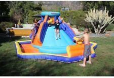 Battle Ridge Inflatable Water Slide with Air Blower, Anchors, Repair Kit