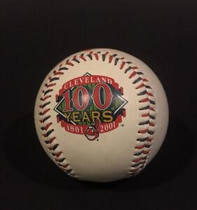 Cleveland Indians 100 Years 1901-2001 Foto Baseball Chief Wahoo Logo