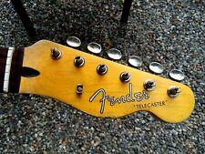 Genuine Fender Lic Relic Tele neck Aged Nitro 59 60  Telecaster Mr G's Custom