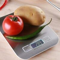 5/10Kg Kitchen Scale Electronic Food Scales Diet Scales LCD Measure Slim I3O2