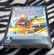 POWER FACTOR  Atari LYNX Brand New Factory Sealed