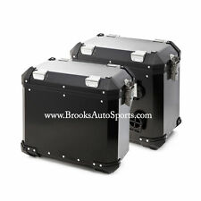 Brooks Pannier system Black (Left+Right Bags) for BMW F800/F800GS/F700GS/F650GS