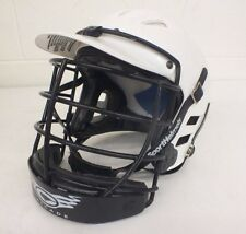 Cascade Basic White Lacrosse Helmet w/Cage & Chin Strap Size Xxs Fast Shipping