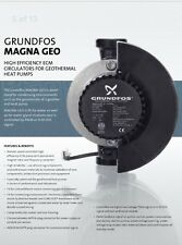 New Grundfos  Geo Magna 32-140 PWM  Pump Smart High Efficiency 230v Flo