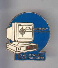RARE PINS PIN'S .. INFORMATIQUE PC ORDINATEUR COMPUTER QUASAR HP HEWLETT P. ~AX