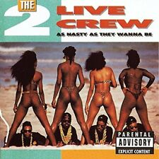 2 LIVE CREW-As Nasty As They Wanna Be  VINYL LP NEW