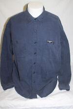 Vintage Polo Jeans Co Ralph Lauren Blue Long Sleeve Button Front Shirt Large