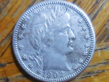 1902-O Barber Quarter (seller's note #123)