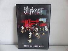 DVD SLIPKNOT South american war