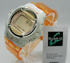 ✅ Casio Baby G Negativ Display BG-169WH-4BVER Orange ✅