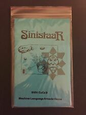 Sinistaar Tandy TRS-80 Color Computer CoCo 3 512K game Disk NEW! Sundog Systems