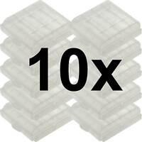 10 x Aufbewahrungsbox für AAA/AA Batterie Batteriebox Mignon Micro Akku Box