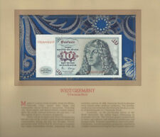 Most Treasured Banknotes Germany 1980 10 Mark UNC P-31d UNC Birthday CK2200325F