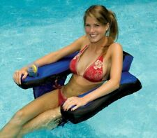 Pool Float Chair Floaties Cup Holder Floats For Adults Inflatable Floaters Ride