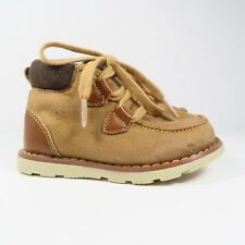 Genuine Kids Tan and Brown Boots Size 5 (Toddler)