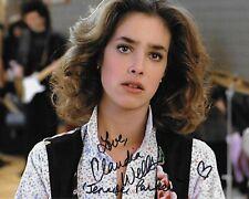 Claudia Wells Espalda A La Futuro Original Autografiada 8X10 Fotos