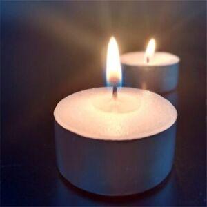 Tea Lights 8 Hour Long Burn Night Light Candles Unscented Tealights 50 /100 /200