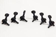 Set de clavijas 3R3L negras Guitarra - Set of 3R3L Black machine heads
