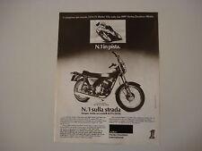 advertising Pubblicità 1976 HARLEY DAVIDSON SS 250