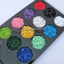 12 Colors Square cell phone nail art acrylic rhinestones decorations Accessories