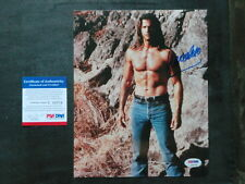 Lorenzo Lamas Hot! signed 8x10 photo PSA/DNA cert