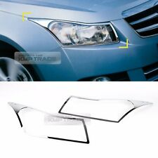 Chrome Front Head Lamp Molding Trim Garnish Cover for CHEVROLET 2008-2014 Cruze