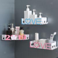 Wall Corner Rack Holder Bathroom Shower Caddy Shelf Basket Storage Organizer