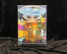 Playmates Autographed Counselor Deanna Troi Action Figure in Lucite Case