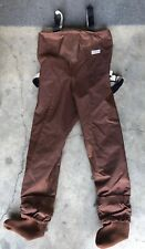 ORVIS  FISHING  CHEST WADERS  NEOPRENE FEET  Brown XS Great Condition!!!!