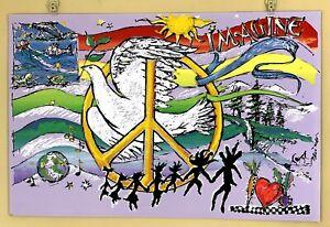 Imagine, Peace Dove, Earl Newman. Ex Condition.