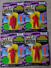 Universal Studios Monsters Mummy Wolfman Dracula Frankenstein Grow Monsters MIP