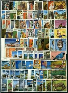 Paraguay Stockpage Full Of Stamps #W2796
