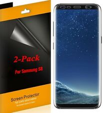 2x Super HD Clear Full Coverage Screen Protector For Samsung Galaxy S8