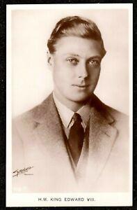 1930,s H.M KING EDWARD VIII SUPERB REAL PHOTO POSTCARD