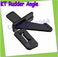 10x Servo accessories black ultralight rudder angle plug KT rudder RC Airplane