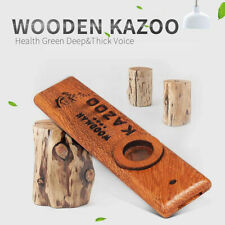 More details for wood group flute playing level solid wooden kazoo musical instrument gift uk new