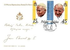 FDC - Third visit of pope John Paul II to Poland - 1987