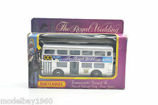 MATCHBOX K15 THE ROYAL WEDDING  BUS