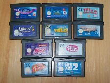 LOT 10 CARTOUCHES GAME BOY ADVANCE  GBA