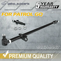 For Nissan GQ Y60 Patrol Adjustable Heavy Duty Drag Link Steering Arm Rod