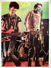Sex Pistols Original Vintage 1980's Original Poster