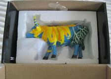 Cow Parade Udderly Sun Flowers Figurine MIB by Jodi Mendlinger